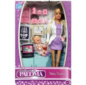 Paloma Doctora + Paciente+ Medicinas