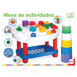 Mesa de actividades Antex