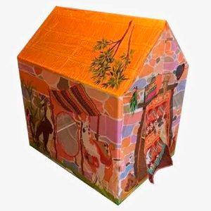 Carpa Casita de Juegos Llama con Ventana 70x90x102cm