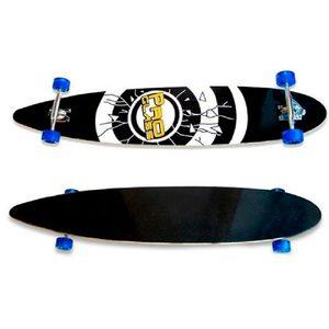 Skate Longboard Gigante Madera 119cm