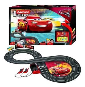 Pista de Autos De Carrera de Cars Disney Scalextric + 2 Autos