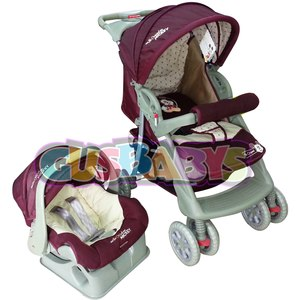 Cochecito CUNA DISNEY TRAVEL SYSTEM + BUTACA CON BASE