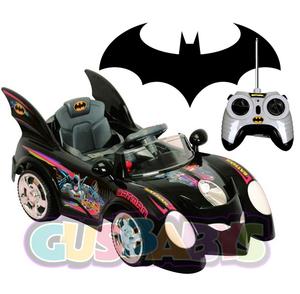 Auto Batimovil Grande a Bateria + Control Remoto + Musica Original Batman 1 a 6 años