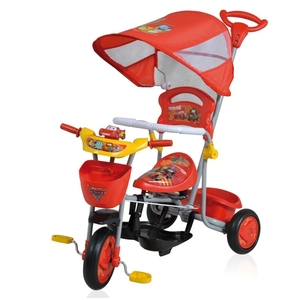 Triciclo Direccional Disney Cars Original