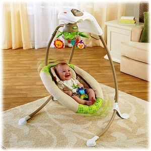 Columpio Mecedora De Lujo Fisher Price Rainforest Friends El mejor!