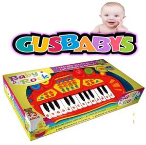 Teclado Pianito Baby Rock Con Sonidos Reales, Animales, Instrumentos y Ritmos