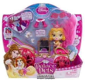 Perrito Bella C/carruaje Palace Pets Disney Tv Original