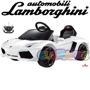 Nuevo Replica Lamborghini Aventador a Bateria con Control Remoto y Mp3