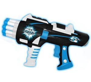 Pistola Super Blaster Lanza 10 Dardos De Espuma Maxsteel