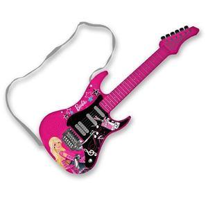 Guitarra Electrica Rock Star Barbie Mattel