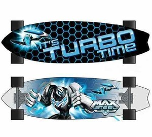 Maxsteel Patineta Skate Turf Turbo Time Maple Doble Capa