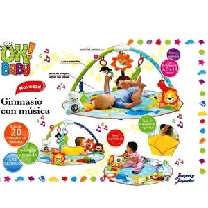 Gimnasio Musical Ok Baby con Peluche de Apego