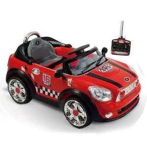 Auto A Batería Modelo Mini Cooper Deportivo Mp3 + Control Remoto + Luces