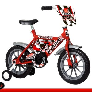 Bicicleta Infantil Rodado 12 Stark Niños Varón Top Race