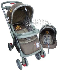 TRAVEL SYSTEM DISNEY REBATIBLE CON BUTACA
