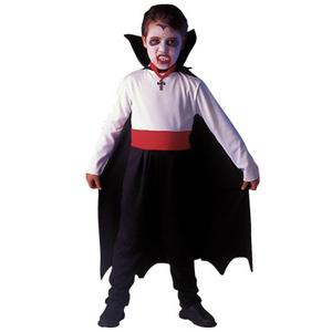 Halloween Disfraz Drácula Traje + Capa + Dientes
