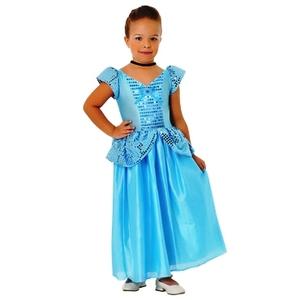 """Disfraz de Princesas """"Cenicienta""""  Vestido Completo"""