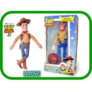 Muñeco Woody Buzz de Disney  Interactivo Ditoys Dice Frases