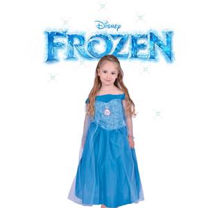 Disfraz Frozen Elsa Con Licencia Disney Original New Toy