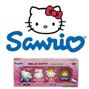 Familia o Amigos Hello Kitty Original Sanrio 4 Personajes