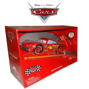 Cars Auto Con Lanzador Rayo Mc Queen
