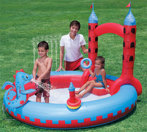 Pileta Inflable Interactiva Castillo Bestway