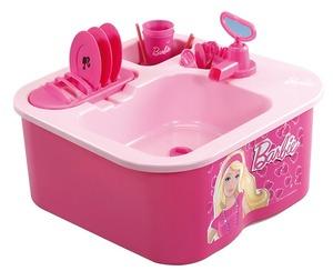 Lavavajilla De Barbie Con Canilla De Verdad Y Desagote