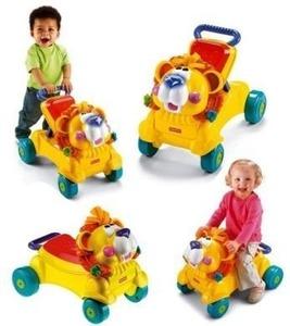 Andador Caminador 2 en 1 Go Baby Go Leon Musica Y Luces