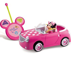 Minnie Club House Auto Descapotable a Radio Control