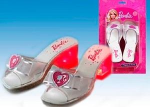 Taquitos Con Luz - Zapatos Originales Barbie Novia
