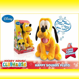 Mickey Mouse Minnie Donald Pluto Sonidos Felices Tv!!