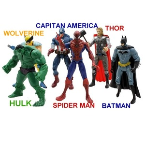 Muñecos Los Vengadores Avengers Set X 5