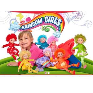Muñecas Rainbow Girls Se Rien, Dibujan Corazones, Cantan, Silban TV