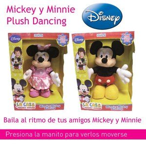Mickey Minnie Dancing Club Bailan al Ritmo de la Musica!!