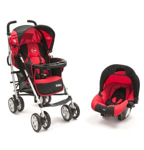 TRAVEL SYSTEM KIDDY CADDY 360 CON BUTACA CIERRE PARAGUAS