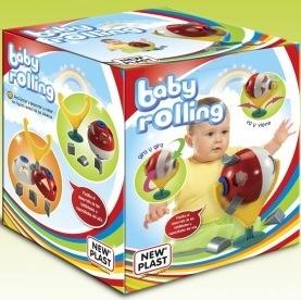 Baby Rolling Encastre Con Sopapa para Jugar en la Mesa o en la Silla de Comer