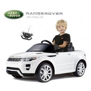 Auto A Batería Land Rover Evoque Blanco 12v Mp3 Control Remoto Licencia Original
