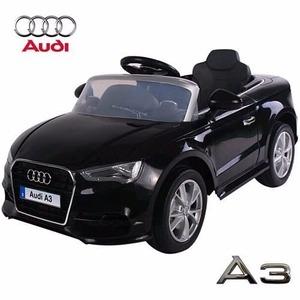 Audi A3 A Batería Negro Con Control Remoto 12 V 3 Velocidades
