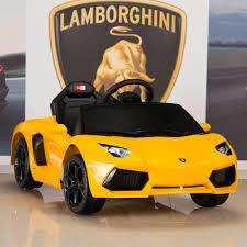 Lamborghini Aventador Amarillo a Bateria con Control Remoto y Mp3