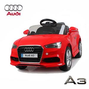 Audi A3 A Batería Rojo con Control Remoto 12 V 3 velocidades