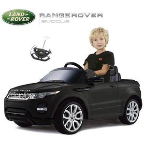 Auto A Batería Land Rover Evoque Negro 12v Mp3 Control Remoto Licencia Original