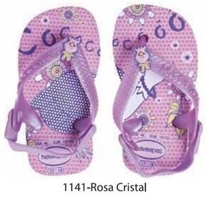 Ojotas Havaianas Originales Bebes Brasil Verano 2016 Rosa Cristal