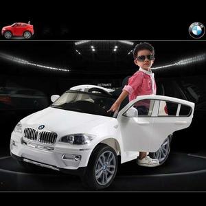 """"""" SUPER PRECIO"""" """"PROMOCION LIMITADA"""" Camioneta Bmw X6 Auto A Bateria Blanca 12V 2 Motores"""