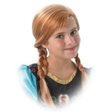 Peluca de Anna de Frozen Disney Original