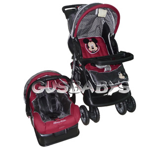 TRAVEL SYSTEM + BASE PARA EL AUTO DISNEY