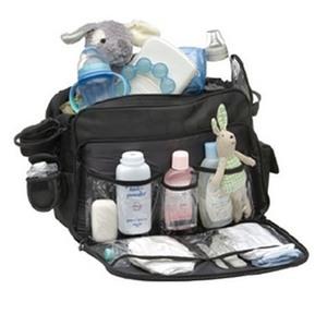 Bolso Maternal Infanti Deluxe Con Cambiador Bolsillo Termico