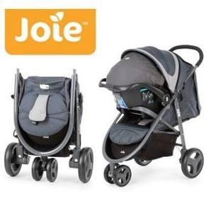 Coche Travel System Jogger Infanti Joie Litetrax + Base para el Auto