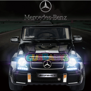 Nueva!! Camioneta 4 x 4 Mercedes Benz G 63 a Bateria 12v Luces Led Radio Fm Tarjeta SD Control Remoto