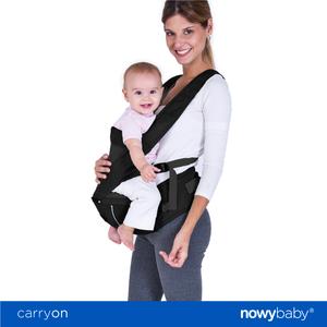 Mochila Porta Bebé Carryon Nowy Baby Espalda Ventilada