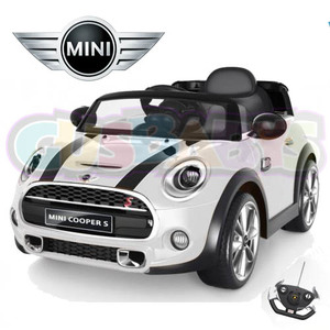 Auto A Batería 12V Modelo Mini Cooper Deportivo Mp3 + Control Remoto + Luces
